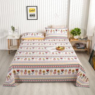 巴雷特 纯棉40支贡缎床单 120*230cm