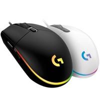 logitech 罗技 G102 二代 有线鼠标 8000DPI