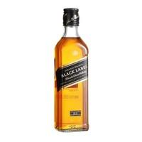 仅限一天!JOHNNIE WALKER 尊尼获加 黑牌黑方 苏格兰威士忌 1000ml