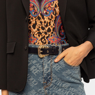 Versace JeansCouture VERSACE JEANS COUTURE 范思哲女士黑色腰带