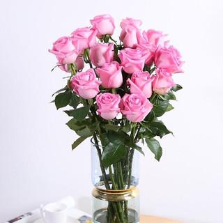 20只玫瑰鲜花速递 基地直发
