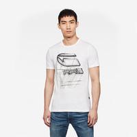 G-STAR RAW D17103-336-110  男士短袖T恤