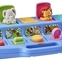 Playskool Poppin's Pals 弹出式活动玩具,适用于9个月以上的婴幼儿