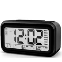 尚动 电子闹钟 X-JJRY9030-0 黑色 13.8cm 第6代全功能版
