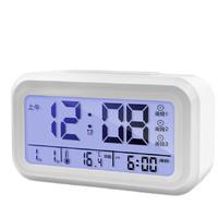 尚动 电子闹钟 X-JJRY9030-0 白色 13.8cm 第5代功能版