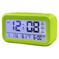 尚动 电子闹钟 X-JJRY9030-0 绿色 13.8cm 第4代升级版