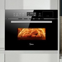 Midea 美的 TQN34FBJ-SA X4 蒸烤一体机 洗碗机套装