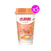 香飘飘 椰果系列原味奶茶 80g*5杯