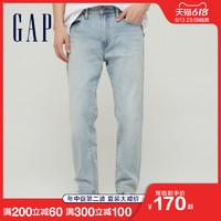 Gap男装夏季薄款九分裤牛仔裤718597 2021春夏新款 浅靛蓝 175/76A(30)