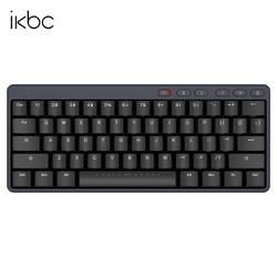 iKBC S200 机械键盘 mini 61键 无线2.4G 青轴