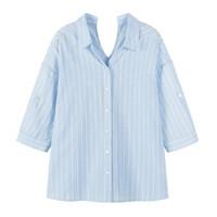 Semir 森马 13-330921 女士条纹衬衫