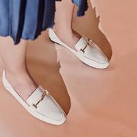 Millie's 妙丽 81921CM0 女士牛皮乐福鞋