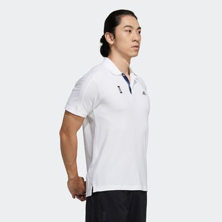 adidas 阿迪达斯 男装夏季运动型格短袖 POLO衫GP0825 GP0826