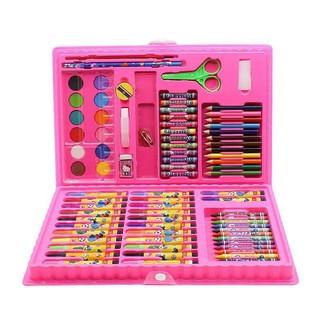哦咯 儿童水彩笔绘画套装送画本礼盒