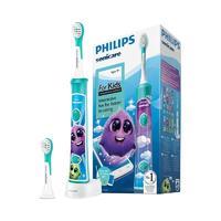 PHILIPS 飞利浦 Sonicare for Kids儿童护齿系列 HX6322/04 儿童电动牙刷 蓝色 蓝牙款