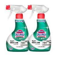 Kao 花王 厨房油污泡沫清洁剂 400ml*2瓶 薄荷香型