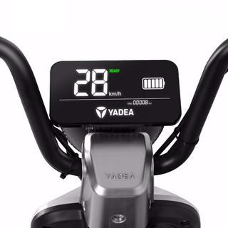 Yadea 雅迪 欧逸Li 电动自行车 TDT2345Z 48V20Ah锂电池 科技银 篮筐靠背版