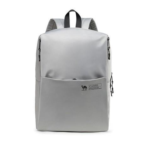 CAMEL 骆驼 双肩包学生日常书包户外减负轻便多功能旅行大容量双肩包男 T1S3NJ105,灰色