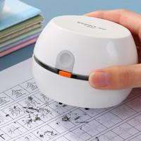 齐心(COMIX)强吸力桌面吸尘器 迷你键盘除尘清洁助手 橡皮屑清洁器 办公用品 L830 白色
