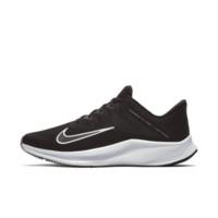 Nike Quest 3 男子跑步鞋 黑/铁灰/白色