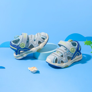 Ginoble 基诺浦 2021新夏款凉鞋宝宝学步凉鞋防滑清凉男女儿童机能鞋子