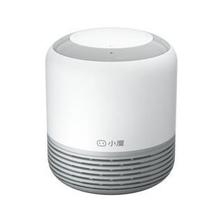 小度 智能音箱 2 经典款 蓝牙音箱 wifi人工语音遥控 家电控制 迷你音响 早教故事机 灰白