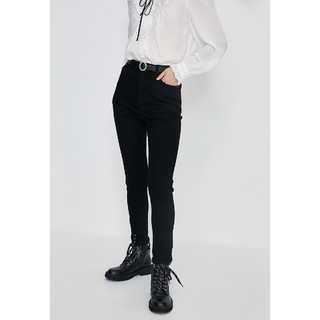 URBAN REVIVO UR青春时尚复古舒适紧身显瘦牛仔裤YU46RBKN2000
