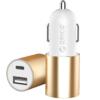 ORICO 奥睿科 UCF-2 车载充电器 Type-C USB-A 15.5W
