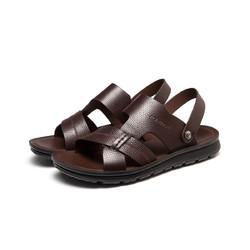 AOKANG 奥康 男鞋 真皮两穿舒适休闲日常沙滩凉鞋