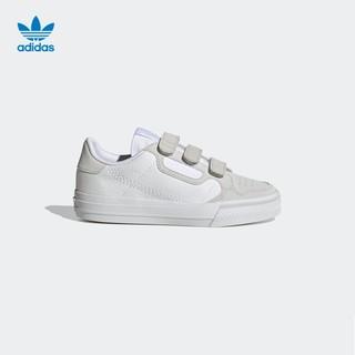 adidas 阿迪达斯 官网 三叶草 CONTINENTAL VULC CF C 小童运动鞋EG9096
