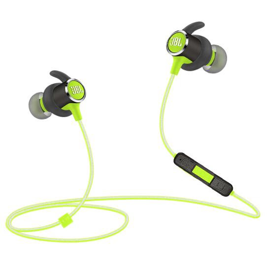 JBL 杰宝 Reflect Mini BT 2.0专业运动无线蓝牙耳机 入耳式手机音乐耳机Mini BT 绿色