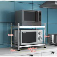 CHUANGBU 创步 厨房收纳置物架 2层