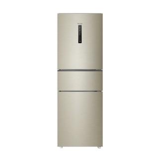 Haier 海尔 BCD-252WXPS 风冷多门冰箱 252L 炫金拉丝