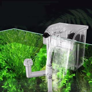 憨憨乐园 水族鱼缸外置壁挂式三合一过滤器 HL-06(3.4W)适合于20-40cm以下缸  *