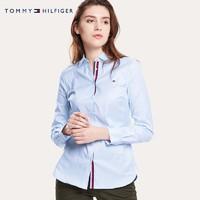 TOMMY HILFIGER 汤米·希尔费格 WW0WW26804 女士经典款长袖衬衫