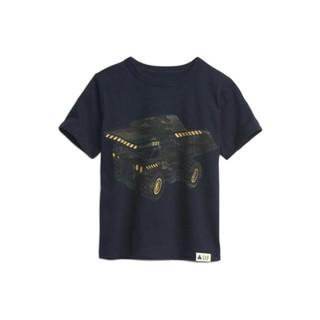 Gap 盖璞 布莱纳小熊系列 681413 男童短袖T恤