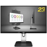 AOC 冠捷 Q27P1U 27英寸 IPS 显示器(2560×1440、60Hz、89%NTSC)