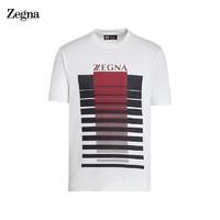 Ermenegildo Zegna 杰尼亚 VV391-ZZT63V-6V1 男士T恤