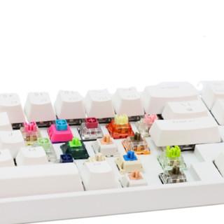 ROYAL KLUDGE RK68 Plus 68键 多模无线机械键盘 白色 国产红轴 单光