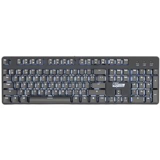 ROYAL KLUDGE RK920C 104键 有线机械键盘 黑色 Cherry青轴 单光