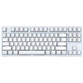 ROYAL KLUDGE RK987 87键 蓝牙双模机械键盘 白色 Cherry青轴 单光