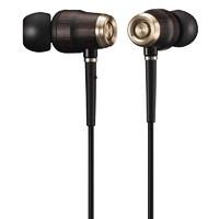 JVC 杰伟世 HA-FX750 入耳式有线耳机 黑金 3.5mm