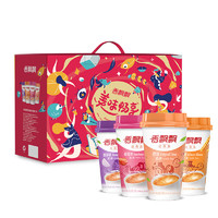 香飘飘 美味畅享 奶茶礼盒装 80g*20杯(原味+麦香+草莓+香芋)