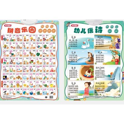 ZHIHUIYU 智慧鱼 儿童早教看图识字拼音