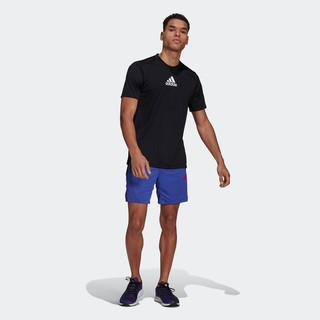adidas 阿迪达斯 官网 adidas 男装夏季训练运动短袖T恤GM2126 GM2135