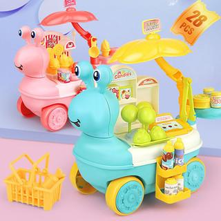 YIMI 益米 男孩过家家冰淇淋糖果售卖车模型玩具