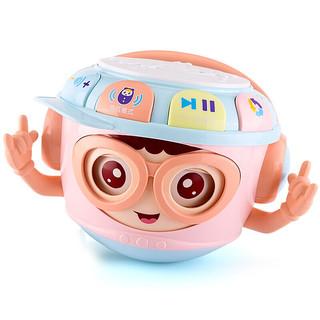 乖乖星 婴儿玩具手拍鼓一岁宝宝玩具0-1岁不倒翁可啃咬早教儿童音乐拍拍鼓6-8个月男孩女孩六一儿童节礼物