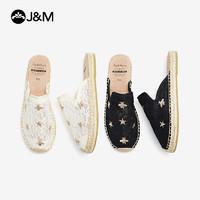 J&M 快乐玛丽 01858W+7 女士拖鞋