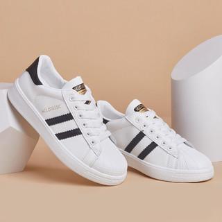 oulisasi 欧利萨斯 热卖爆款女士鞋子女板鞋贝壳头小白鞋女休闲鞋女鞋