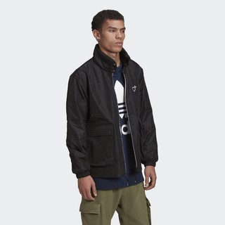 16日0点 : adidas 阿迪达斯 HUMAN MADE联名款  2020Nov 男装运动外套